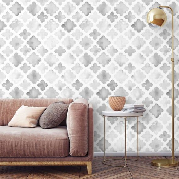 Removable Wallpaper Watercolor Peel And Stick Wallpaper Mural Self Adhesive Ac Wallpaper Living Room Accent Wall Accent Wallpaper Geometric Removable Wallpaper