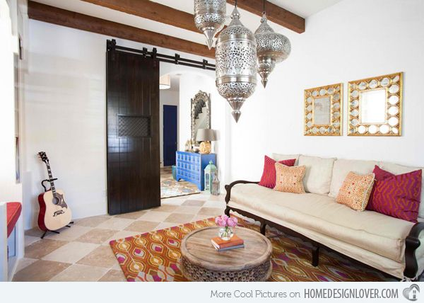 15 Outstanding Moroccan Living Room Designs Part 85