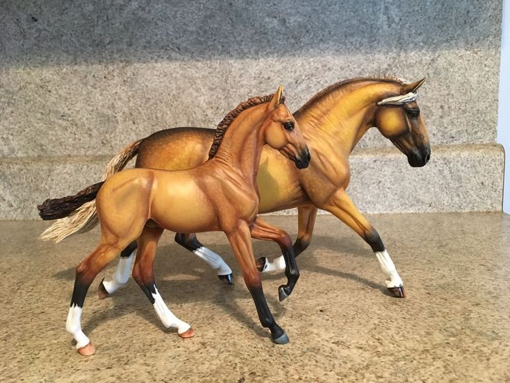 Breyer Custom Horse Andalusian Mare And Foal OOAK Traditional | eBay
