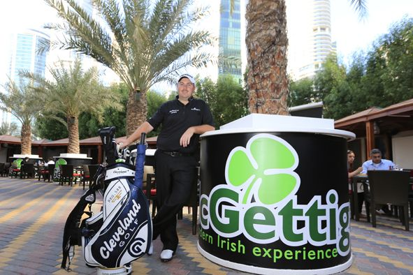 Shane Lowry at McGettigan's JLT and the Bonnington Jumeirah Lakes Towers. For more info: http://www.stpatricksdaydubai.com/?p=1316