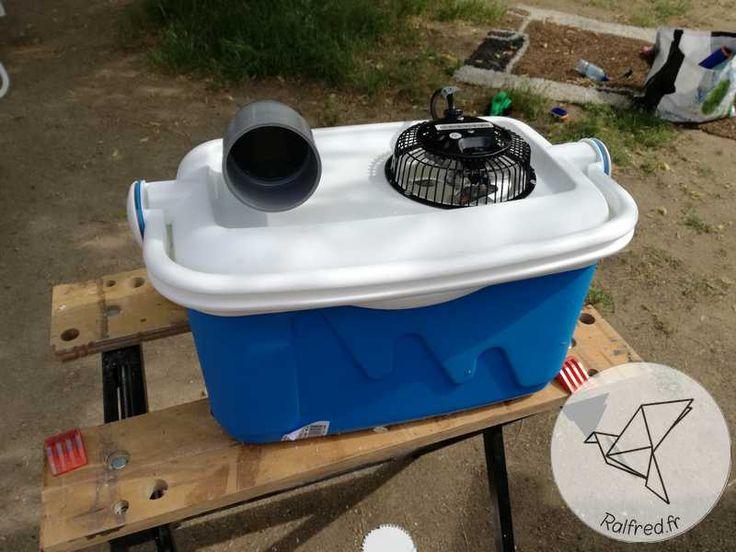 Fabriquer une climatisation DIY pour moins de 20€