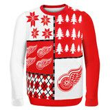 Detroit Red Wings NHL Ugly Sweater Busy Block BEST UGLY CHRISTMAS SWEATER! Just got it and it is even better in person!