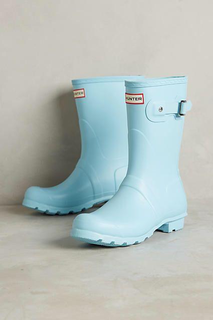 Hunter Original Short Pastel Rain Boots