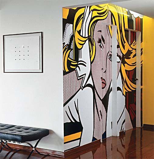 Pop Art na parede                                                                                                                                                      More