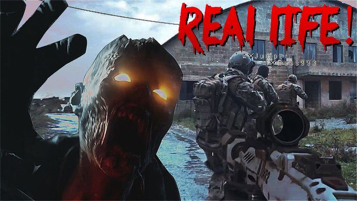 Call of Duty Zombies in REAL LIFE!