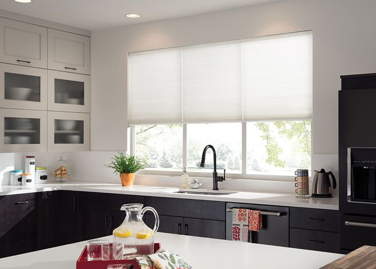 Gently Filter Light And Reduce Heat Gain With Cellular Window Shadings. Kitchen  Window CoveringsKitchen ...