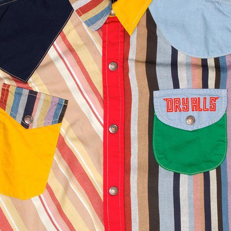 Human Made Pierrot Shirt Multicolor