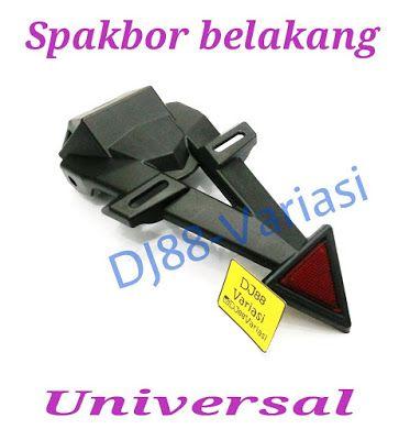 Spakbor universal tail tidy dudukan plat nomor semua motor sport