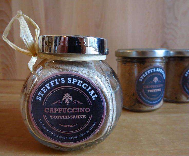 Toffee-Cappuccino-Pulver