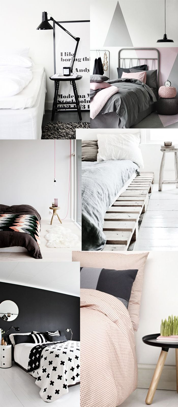 Sleeping room pink / grey