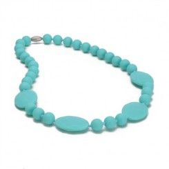CHEWBEADS - COLLIER DE DENTITION PERRY (TURQUOISE)