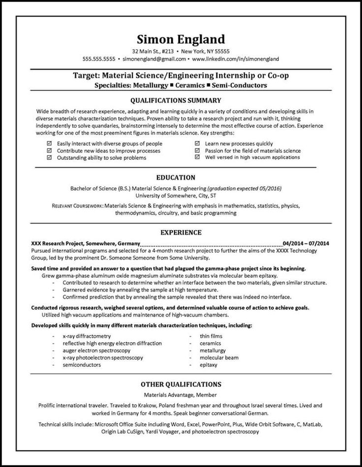 90 Best Resume Examples Images On Pinterest Resume Examples