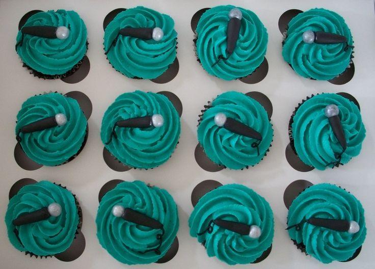 Fondant Microphone Cupcakes Cake Decorating Pinterest - Birthday cakes encinitas