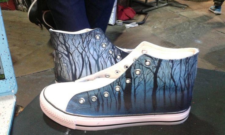 Inspiratie schoenen schilderen