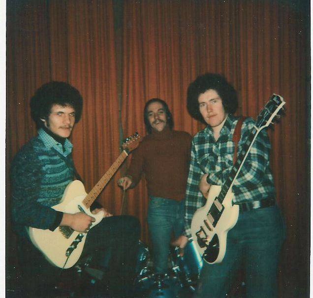 Mijn Eerste Groep met Micha & Swa in 1977