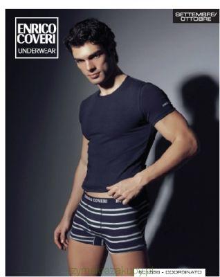 Komplet koszulka   bokserki Enrico Coveri