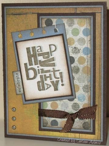 SC116~Yet Another Man Card by darleenstamps - Cards and Paper Crafts at Splitcoaststampers