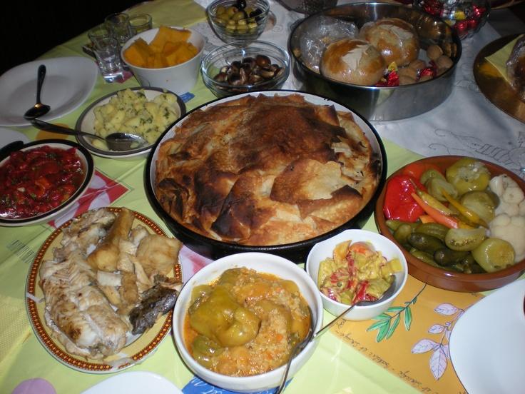 The 25 best greek orthodox christmas ideas on pinterest for Christmas eve food ideas uk