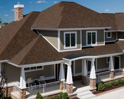 TruDefinition® Duration® Shingles - Brownwood - A1 Roofing Calgary