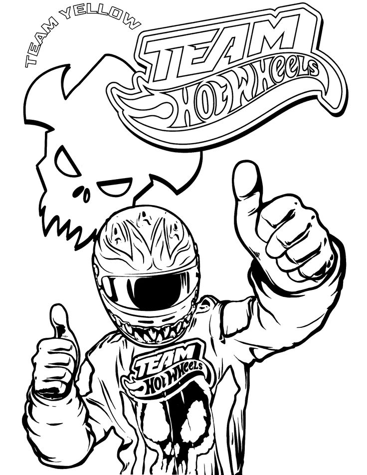 Hot Wheels Coloring Pages Games