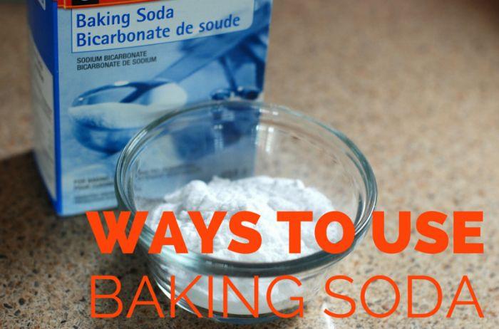 6 Ways To Use Baking Soda Around The House