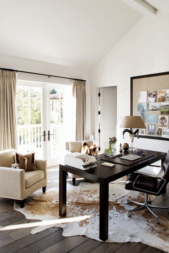 Luxe home office | Daily Dream Decor