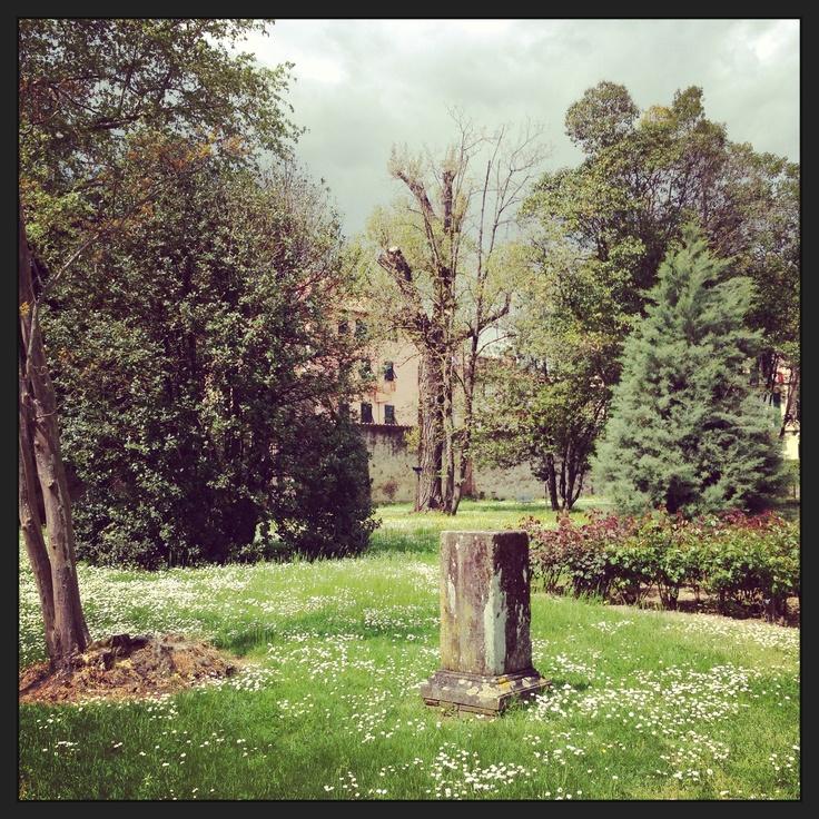 #giardino di #VillaBottini a #Lucca. #invasionidigitali #invasionecompiuta