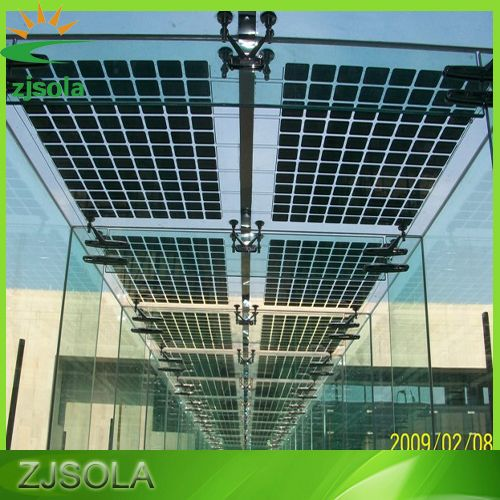 Cheap Transparent Solar Panel For Facades Skylights