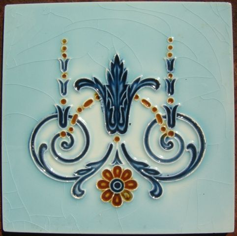 Decorative Tile | Recycling the Past - Architectural Salvage
