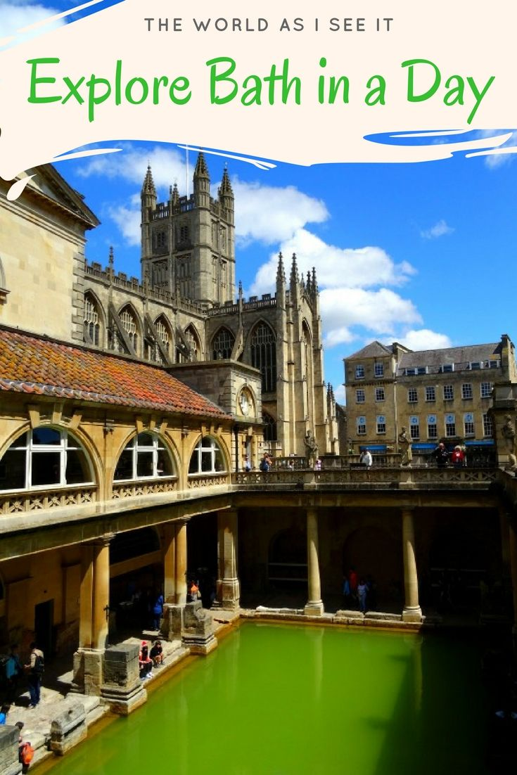 Any visit to the UK isn't complete without a day spent in Bath. Explore this historic and charming place in one day with these highlights. #England #exploremore