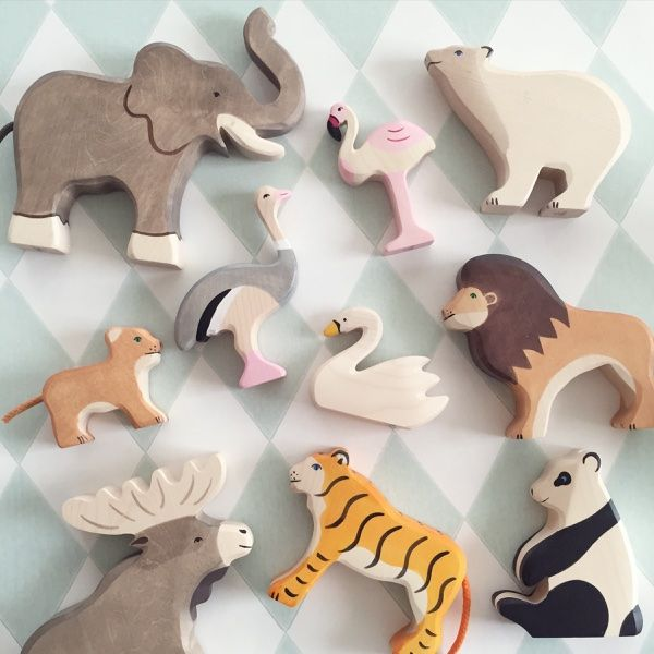 elinochalva - eco friendly wooden animals