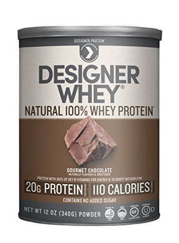 Designer Whey Premium Natural 100% Whey Protein, Gourmet Chocolate, 12 Ounce //Price: $11.80 & FREE Shipping //     #hashtag1