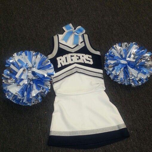 New Rogers Rams cheer uniforms 2014-2015 #RHSCheer #rampride #varsity