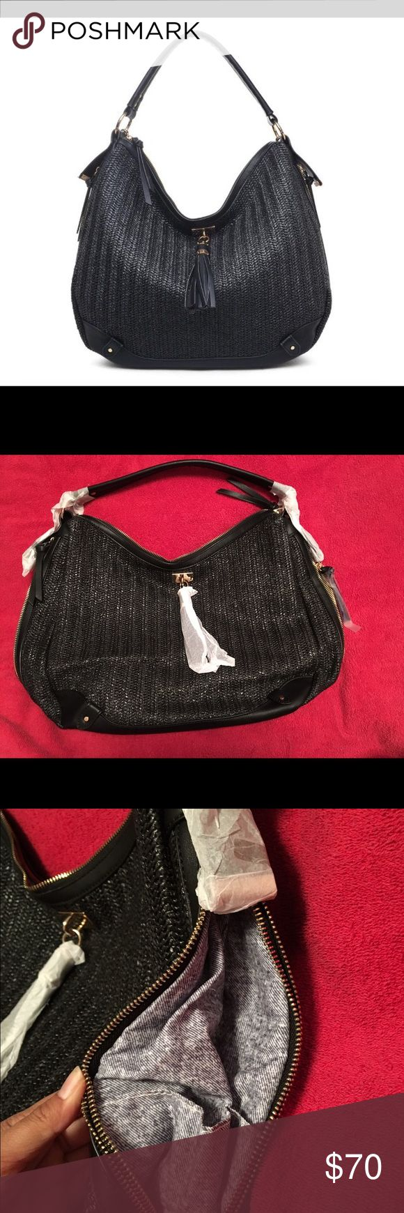 "Urban Expressions Oasis Bag Slightly slouchy handbag, single hand strap, detachable adjustable shoulder strap. 15.13""L x 5.88""W x 13.38""H. New with tags & cover bag. Please let me know if you have any questions or need more photos. Will take OFFERS. Thank you! Urban Expressions Bags Shoulder Bags"