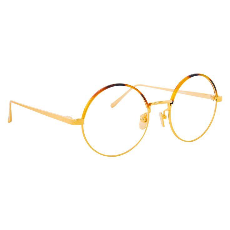 8aab7fae8d63 Linda Farrow 583 C2 Round Optical Frame
