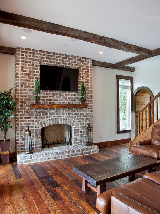 Living Room Ideas With Brick Fireplace And Tv 70 best fireplaces images on pinterest | fireplace ideas