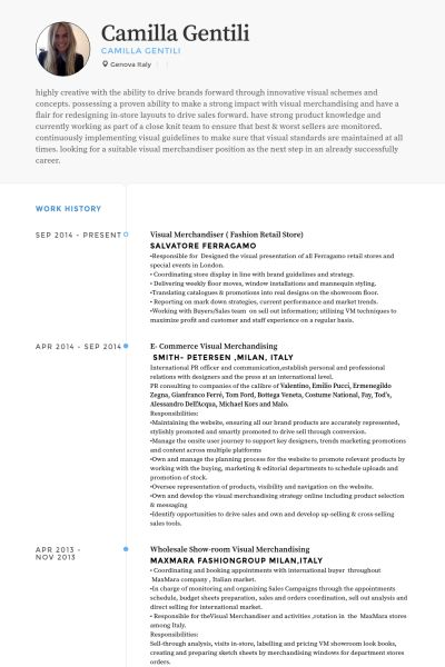 The 25+ best Objective examples for resume ideas on Pinterest - fashion merchandising resume examples