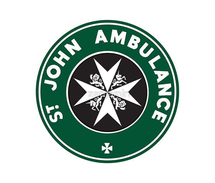 Est-ce juste moi ou le logo Ambulance Saint-Jean du TARDIS ressemble le logo Starbucks? Quoi qu'il en soit, il me fait. • Also buy this artwork on home decor, apparel, stickers et more.