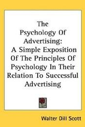 List of the best marketing books ever - The psychology of advertising by Walter Dill Scott