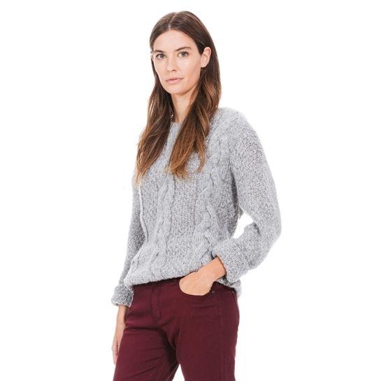 Warmer Pullover mit Zopfmuster - Pullover - Strickjacken-Kollektion - Pimkie Deutschland
