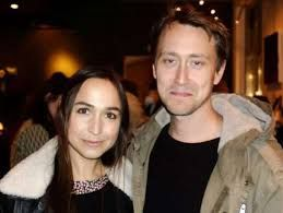 Maria Andersson ex frontsinger of swedish band Sahara Hotnights and his former husband and plastic artist and designer Love Lundell