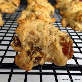 The Dutch Baker's Daughter: Hermits Cookies