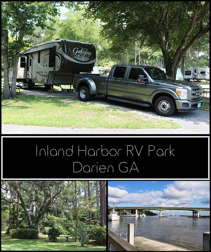 Inland Harbor Rv Park Darien Ga Rv Parks Rv Parks And Campgrounds Travel Trailer Camping