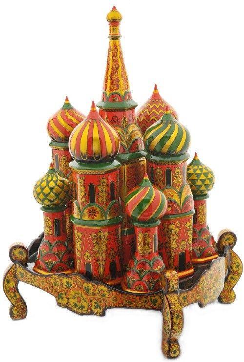 Khokhloma - traditional Russian folk craft