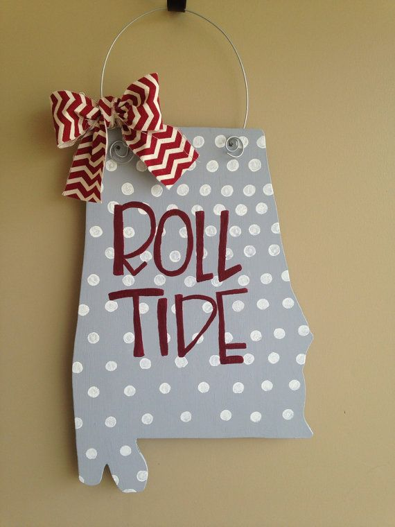 University of Alabama Door Hanger