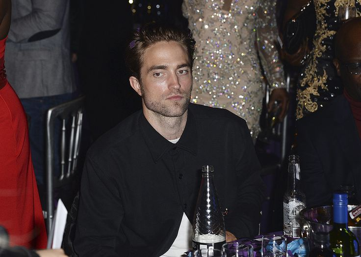 Celebrity Gossip, Entertainment News & Celebrity News | Robert Pattinson Flashes an Infectious Smile During a Night Out With FKA Twigs | POPSUGAR Celebrity