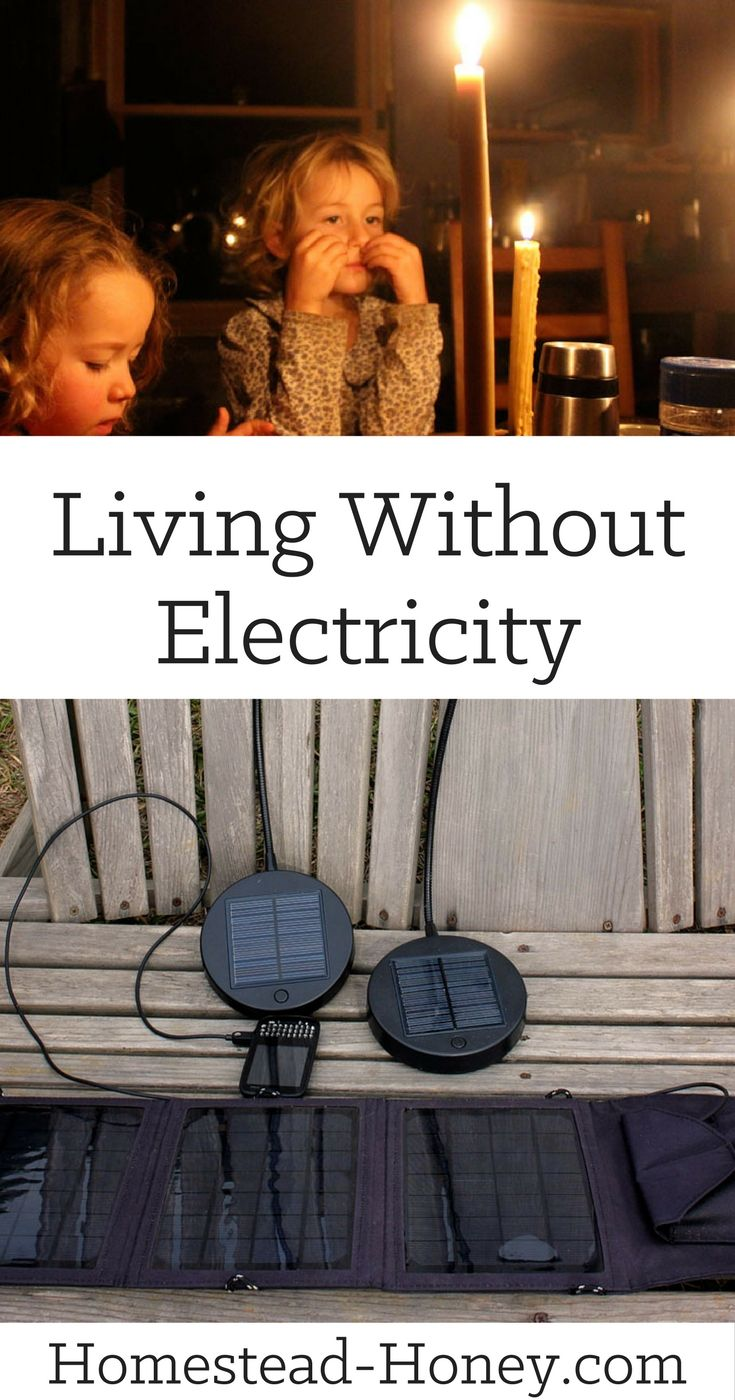 How we managed living without electricity while building our off the grid homestead from scratch. | Homestead Honey