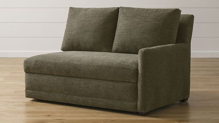 Reston Right Arm Loveseat Sleeper Sofa | Crate and Barrel