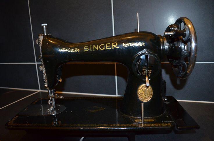 Singer Sewing Machine Antique 1934 Serial Code MA | eBay