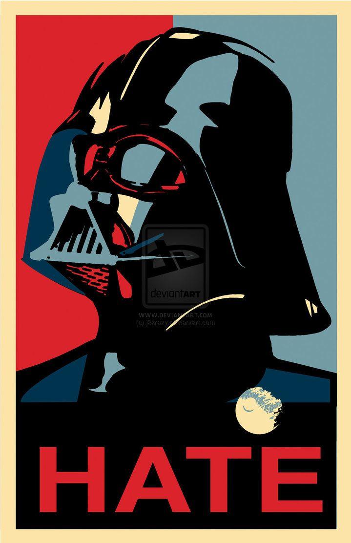 Star Wars - Darth Vader (Shepard Fairey) by j2Artist